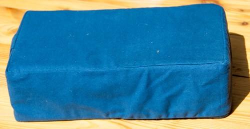 Meditationssitz dunkelblau mit Kokosnuss-Faser