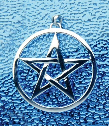 Pentagramm-Anhänger, 5 cm Durchmesser