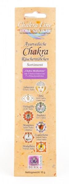 Chakra Meditations - Chakra Line Sortiment