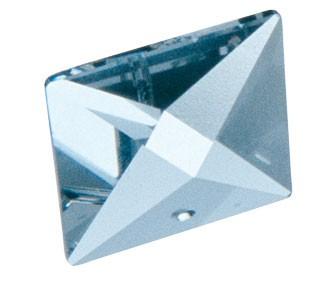 Kristall bleifrei, Pyramide 22 mm