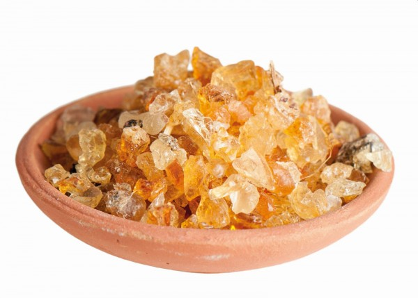 Gummi Arabicum - Räucherwerk in Tüten
