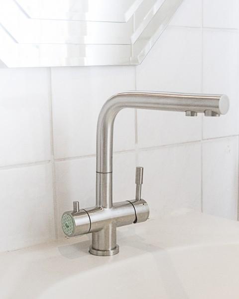 Wasserhahn mit 3-Wege Wasserfilter