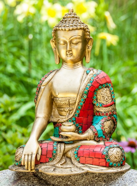 Shakyamuni Buddha sitzend 25 cm
