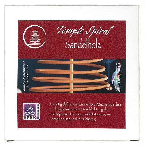 2 Räucherspiralen Australisches Sandelholz 1 Tag